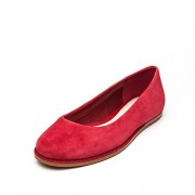 Clarks Women's Glitter Jewel Red Ballet Flats - 4 UK