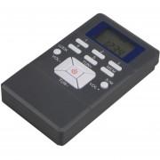 Mini Portatil Pantalla LCD De Modulación De Frecuencia Digital Receptor De Radio Con Auriculares Jack Y Lanyard