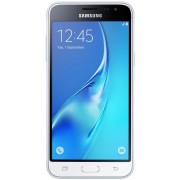 "Telefon Mobil Samsung Galaxy J3 (2016), Procesor Quad-Core 1.2GHz, Super Amoled Capacitive touchscreen 5"", 1.5GB RAM, 8GB Flash, 5MP, 4G, Wi-Fi, Dual Sim, Android (Alb) + Cartela SIM Orange PrePay, 6 euro credit, 4 GB internet 4G, 2,000 minute nationale s"