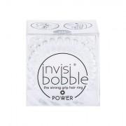 Invisibobble Power Hair Ring elastico per capelli 3 pz tonalità Crystal Clear donna