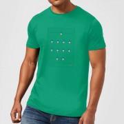 Football Camiseta Fútbol Francia Futbolín - Hombre - Verde - L - Kelly Green
