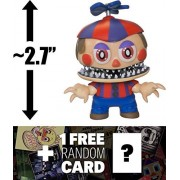 "Nightmare Balloon Boy: ~2.7"" Funko Mystery Minis x Five Nights at Freddy's Series II Mini Vinyl Figure + 1 Official FNAF Trading Card Bundle [UNCOMMON] (14002)"
