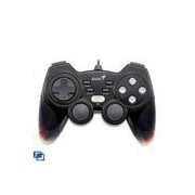 GamePad Genius MaxFire Blaze 3, Vibration, 12 Action Buttons+Turbo+Macro, Compatibil PC & PS3, USB