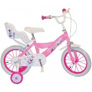 "Bicicleta 14"" Minnie Mouse Club House Pink"