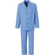 Robson Flanellen pyjama van cadetblauw