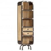 vidaXL Висок шкаф, 40x30x145 см, мангово дърво масив
