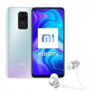 Xiaomi Pack Redmi Note 9 3/64GB Blanco Libre + Mi Ear Auriculares