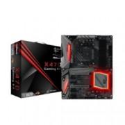 Дънна платка ASRock Fatal1ty X470 Gaming K4, X470, АМ4, DDR4, PCI-E, (HDMI), CFX, 6x SATA 6Gb/s, 1x M.2 socket, 1x Ultra M.2, 2x USB 3.1 Type C, ATX