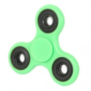 Fidget Spinner Tri-Spinner Anti-Anxiety 360 Spinner Helps Focusing Fidget Toys [3D Figit] Premium Quality EDC Focus Toy for Kids & Adults-Best Stress Reducer Relieves ADHD Anxiety and Boredom Ceramic Cube Bearing Hand Spinner- Green
