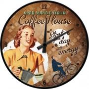 Ceas de perete - Coffee House - Ø31 cm