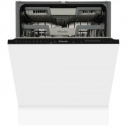 Miele G7362 SCVi AutoDos Built In Fully Integrated Dishwasher - Black