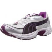 Puma Axis II Wn's IDP Running Shoes For Women(Purple, Silver)