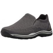 Skechers USA Men's Expected Gomel Slip-on Loafer, Gray, 11. 5 M US