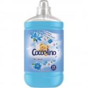 Balsam Rufe Coccolino Blue Splash, 1.8L, 72 Spalari, Parfum de Primavara, Detergent pentru Haine, Balsamuri pentru Rufe, Balsam pentru Ingrijire Haine, Balsamuri pentru Haine