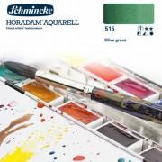 Schmincke Horadam akvarellfesték, 1/1 szilkés - 515, olive green