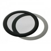 Filtru de praf DEMCiflex Dust Filter Round 92mm - Black/Black
