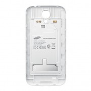 S Charger Wireless Charging Back Cover for Samsung Galaxy S4 - White