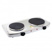 Електрически котлон двоен SAPIR SP 1445 ODS, 2500 W, Регулируем термостат, Бял