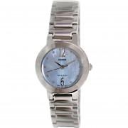 Reloj Casio Análogo Redondo LTP-1191A-2ADF Para Dama- Plateado