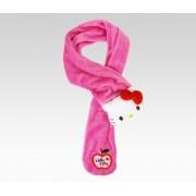 Hello Kitty Kids Plush Scarf: Pink Plush