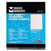 """Mercer Industries 240100A Grano 100 A-Peso 9"""" x 11"""" Carburo de silicio hojas de papel de acabado sin carga (Paquete de 100)"""