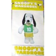 "Peanuts Snoopys Wardrobe For 18"" Plush Snoopy Basketball Uniform Outfit"