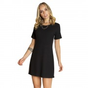 Dress - T-shirt faixa lateral