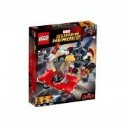 Iron Man: El Ataque De Acero De Detroit Lego 76077