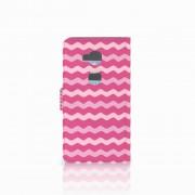 B2Ctelecom Huawei Honor 5X Telefoon Hoesje Waves Pink