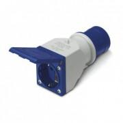 efectoled.com Adaptador IEC309 a Enchufe Tipo F IP54 Azul