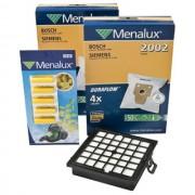 HEPA filtr H12 pro vysavače BOSCH BSG8 a sáčky 1+8 ks v sadě Menalux MSK1