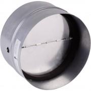 Zaklopka s gumom za brtvljenje za cijevi promjera: 12.5 cm Wallair N35984 pocinčano