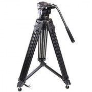 Sonia Pro 777 Tripod with Hydraulic Head Bag for Professional Video Cameras