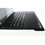 Toetsenbord + lederen draagtas met houder voor PiPo W3F / W3 / W1 Tablet(Black)