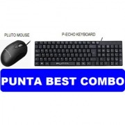 Punta Pluto mouse and Echo keyboard
