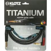 Klotz TIR0450PSP Titanium Silent Cable de instrumento