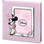 album portafoto con inserto in argento minnie mouse 20x25 cm