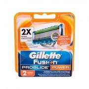 Gillette Fusion Proglide Power lama di ricambio 2 pz uomo