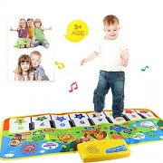 Pandaie Toy,New Play Keyboard Musical Music Singing Gym Carpet Mat Best Kids Baby Gift,Fun Toys for 1 2 3 4 5 6 7 8 9 10 Year Old
