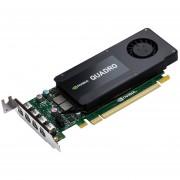 NVIDIA QUADRO K1200 DVI LP CTLR4GB GDDR5 4MDP 4MDP TO DP DVI - VCQK1200DVI-PB