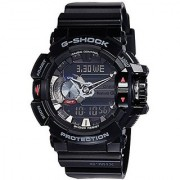 G-Shock Quartz Analog-Digital Black Round Dial Men's Watch GBA-400-1ADR (G556)