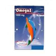 Omega 3 ulei de peste 1000 mg, 30 capsule