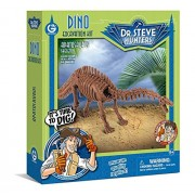 Geo World Dinosaur Exploration Kit Apatosaurus ?Scientific Handicraft Educational Toy Model? Geoworld Dino Excavation Kit Apatosaurus Skeleton Genuine