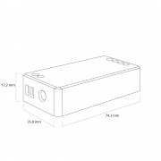 Milight controller voor RF 4-zone set single color led strip
