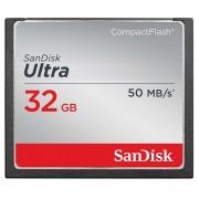 Cartão de Memória SanDisk SDCFHS-032G-G46 Ultra CompactFlash - 32GB