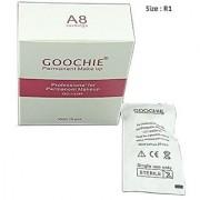Goochie Permanent Makeup Rocket Rotary Machine A8 Cartridge Needles (pack of 15 Needles) (1RL)