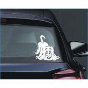 Cute Dog... Car Truck Window Bumper Vinyl Sticker Sticker 25