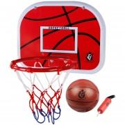 38cm Juguete De Disparo Baloncesto 360DSC - Rojo