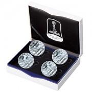 FIFA女子ワールドカップフランス2019公式記念コイン カラー銀貨4種セット
