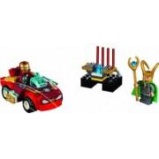 Set Constructie Lego Juniors Iron Man Contra Loki